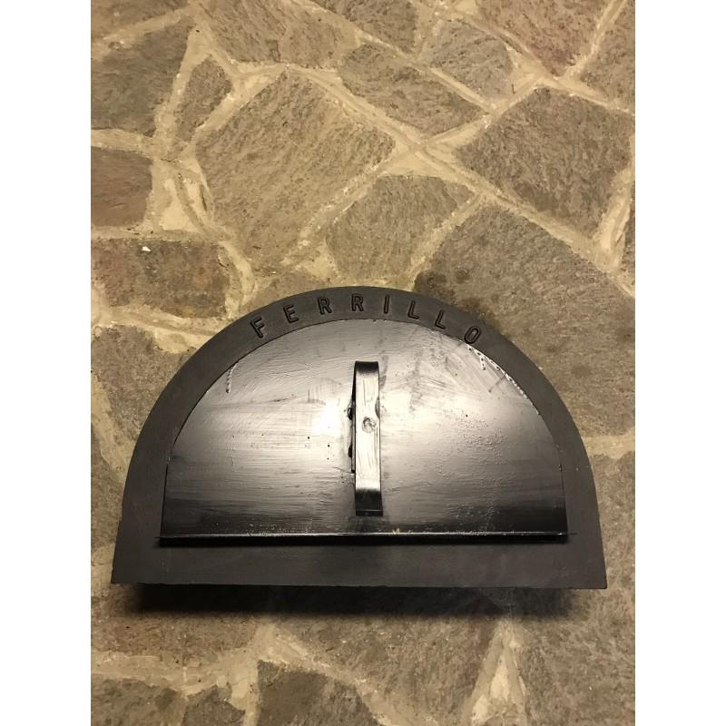 Kit porta forno ghisa for Sportello per forno a legna