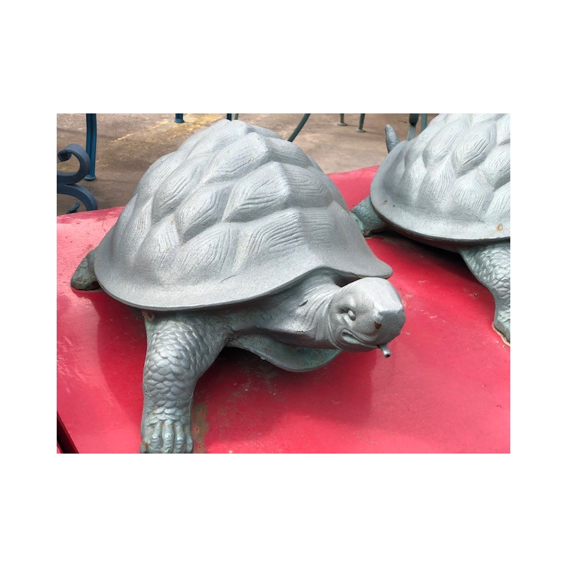 La Tartaruga Mobili Da Giardino.Tartaruga In Ghisa Per Arredo Giardino